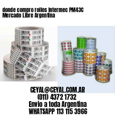 donde compro rollos Intermec PM43C Mercado Libre Argentina