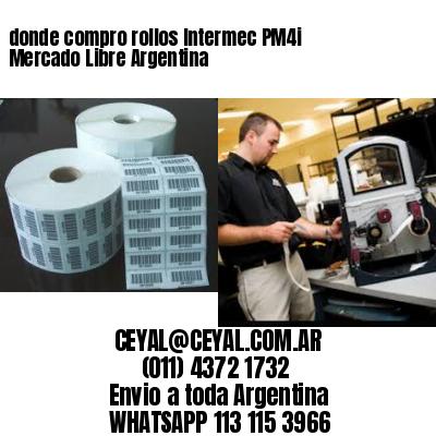donde compro rollos Intermec PM4i Mercado Libre Argentina