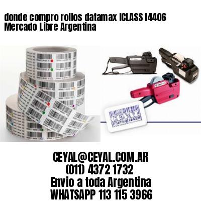 donde compro rollos datamax ICLASS I4406 Mercado Libre Argentina
