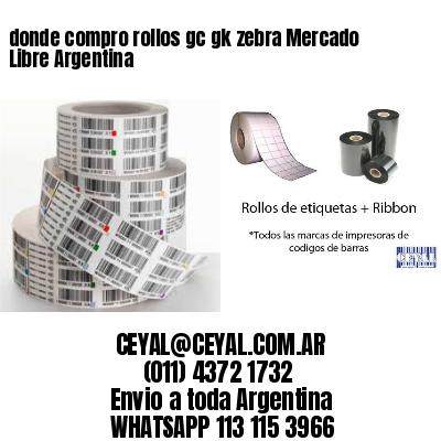 donde compro rollos gc gk zebra Mercado Libre Argentina