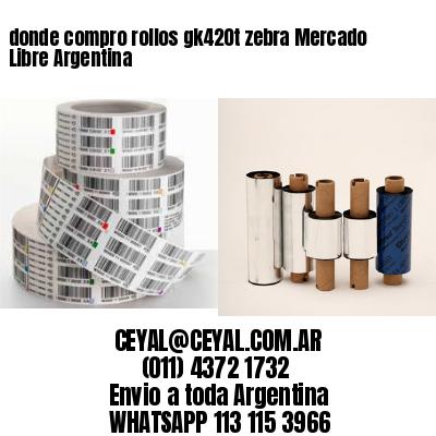 donde compro rollos gk420t zebra Mercado Libre Argentina