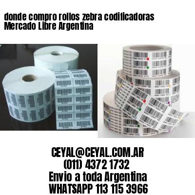 donde compro rollos zebra codificadoras Mercado Libre Argentina