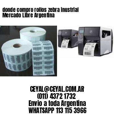 donde compro rollos zebra inustrial Mercado Libre Argentina