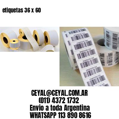 etiquetas 36 x 60