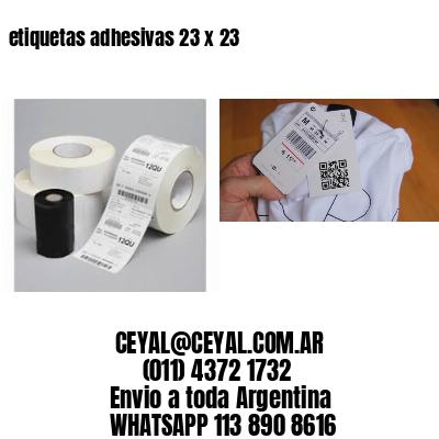 etiquetas adhesivas 23 x 23