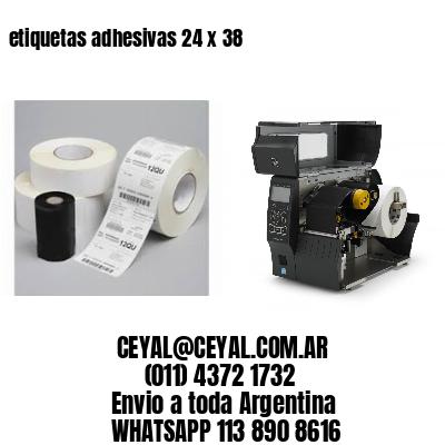 etiquetas adhesivas 24 x 38