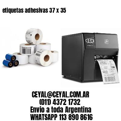 etiquetas adhesivas 37 x 35