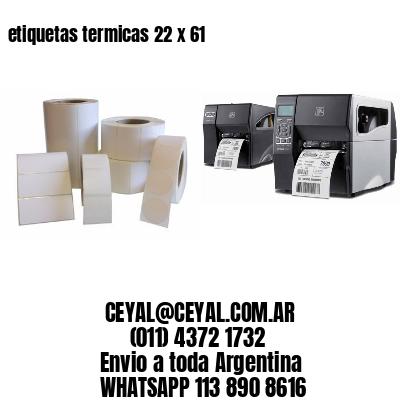 etiquetas termicas 22 x 61