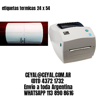 etiquetas termicas 24 x 54