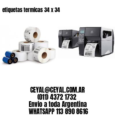 etiquetas termicas 34 x 34