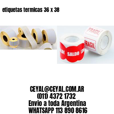 etiquetas termicas 36 x 38